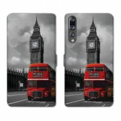 RV Housse cuir portefeuille Huawei P30 PRO Angleterre