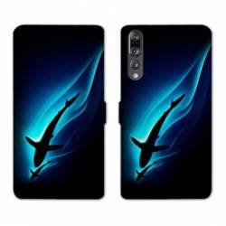 RV Housse cuir portefeuille Huawei P30 PRO animaux 2
