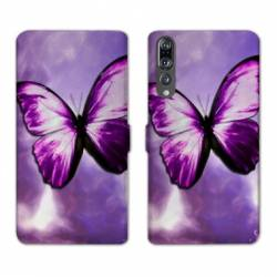 RV Housse cuir portefeuille Huawei P30 PRO papillons
