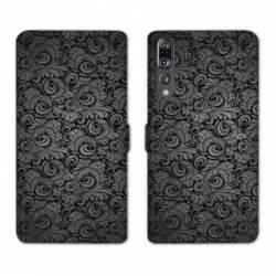 RV Housse cuir portefeuille Huawei P30 PRO Texture