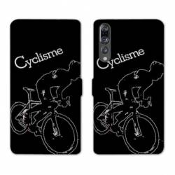 RV Housse cuir portefeuille Huawei P30 PRO Cyclisme