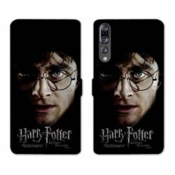 RV Housse cuir portefeuille Huawei P30 PRO WB License harry potter A