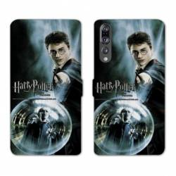 RV Housse cuir portefeuille Huawei P30 PRO WB License harry potter C