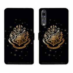 RV Housse cuir portefeuille Huawei P30 PRO WB License harry potter pattern