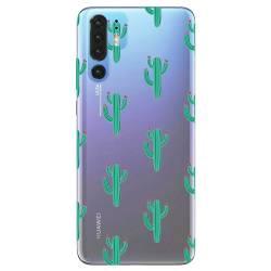 Coque transparente Huawei P30 Pro Cactus