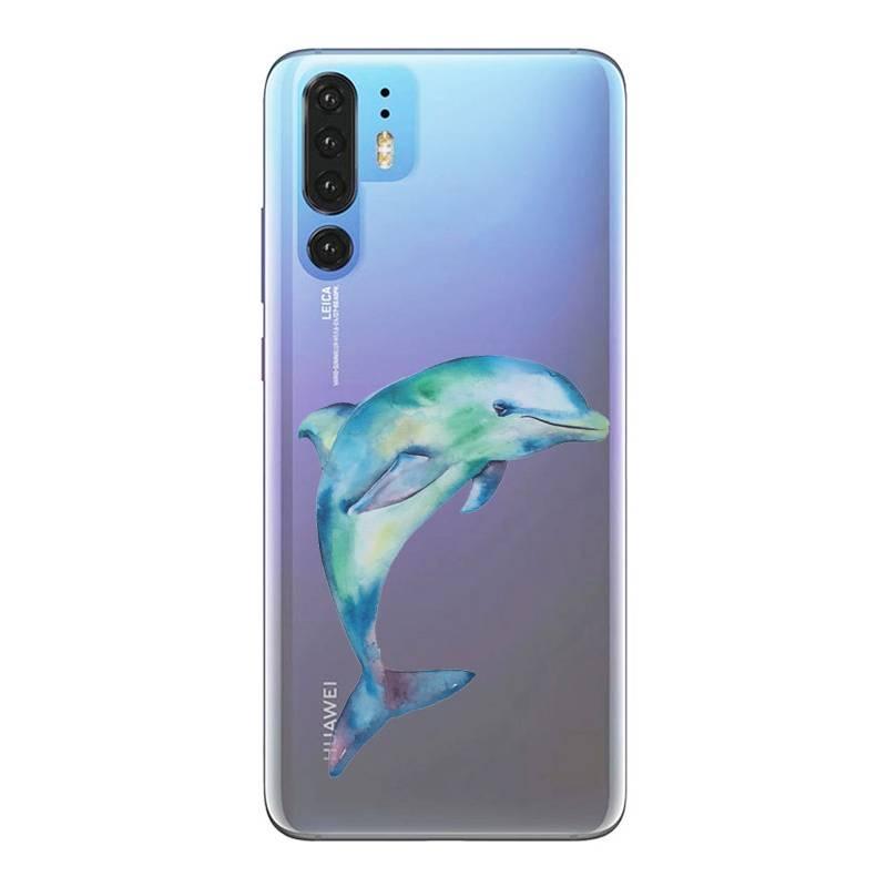 coque huawei p10 dauphin