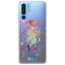 Coque transparente Huawei P30 Pro Dobby colore