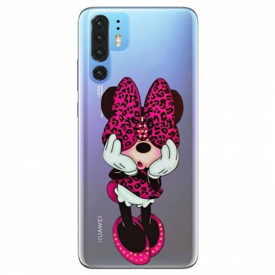 Coque transparente pour Huawei P30 Pro noeud papillon