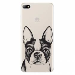 Coque transparente Huawei Y5 (2018) Bull dog