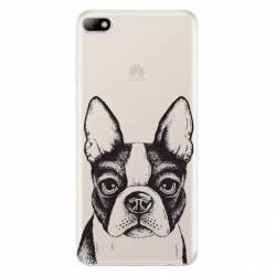Coque transparente Huawei Y5 (2018) Bull dog