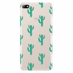 Coque transparente Huawei Y5 (2018) Cactus