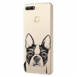 Coque transparente Huawei Y6 (2018) / Honor 7A Bull dog