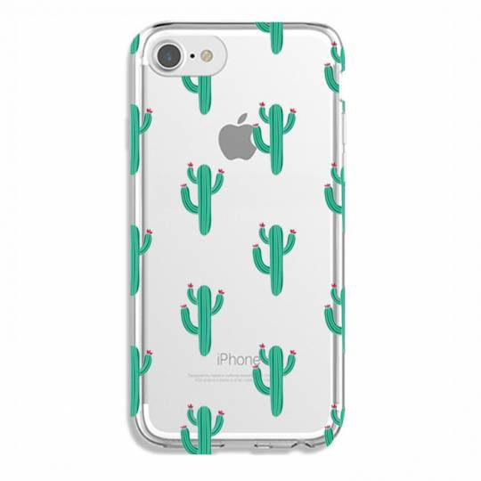 Coque transparente Iphone 6 / 6s Cactus