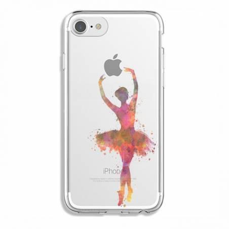 Coque transparente Iphone 6 / 6s Danseuse etoile