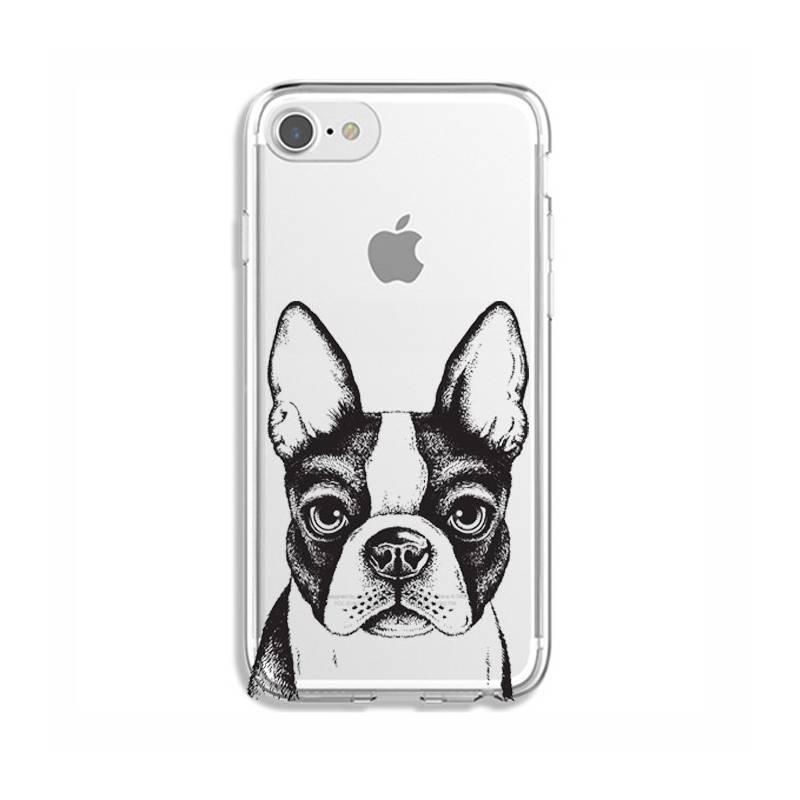 Coque transparente Iphone 7 / 8 Bull dog