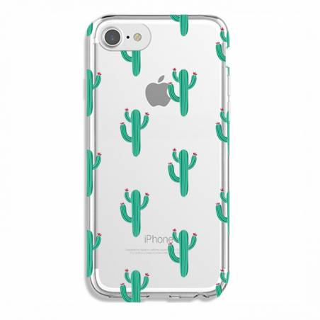 Coque transparente Iphone 7 / 8 Cactus