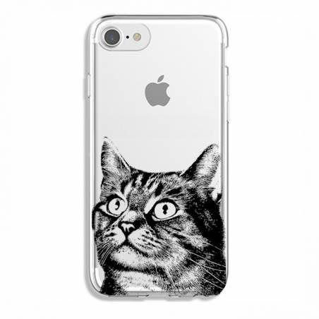 Coque transparente Iphone 7 / 8 Chaton