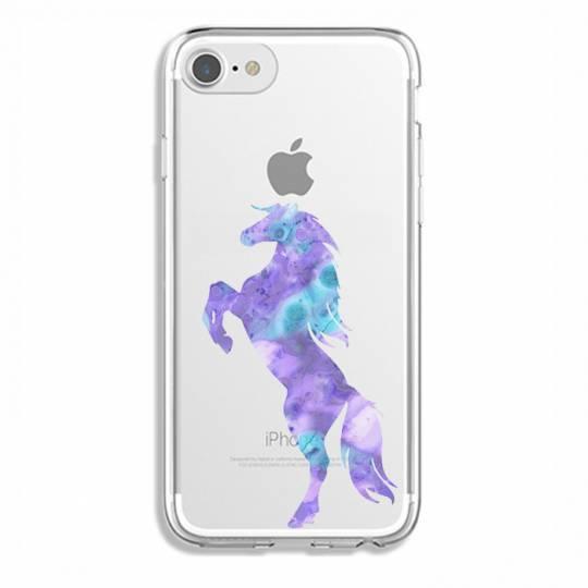 Coque transparente Pour Iphone 7 / 8 / SE (2020) Cheval Encre
