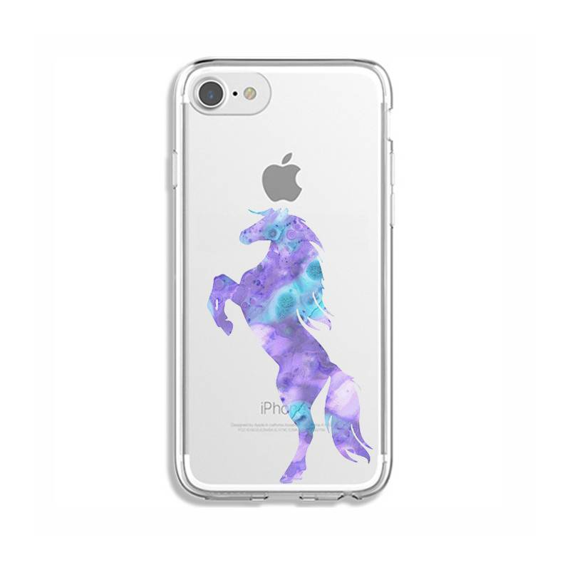 Coque transparente Iphone 7 / 8 Cheval Encre