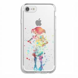 Coque transparente Iphone 7 / 8 Dobby colore