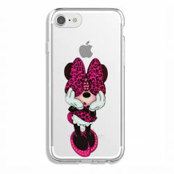 Coque transparente Iphone 7 / 8 noeud papillon