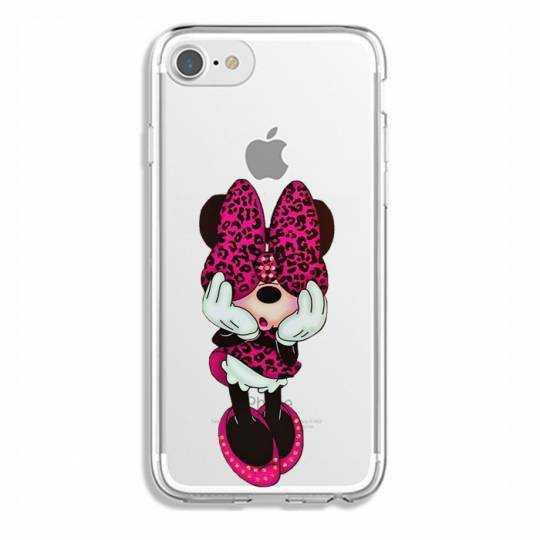 Coque transparente Iphone 7 / 8 noeud papillon