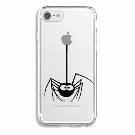 Coque transparente Iphone 7 / 8 Araignee