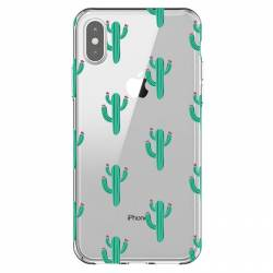 Coque transparente Iphone XR Cactus
