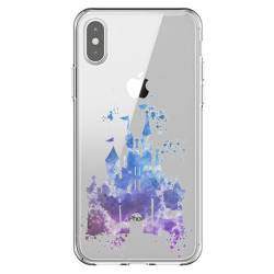 Coque transparente Iphone X / XS Chateau