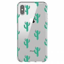 Coque transparente Iphone XS Max Cactus