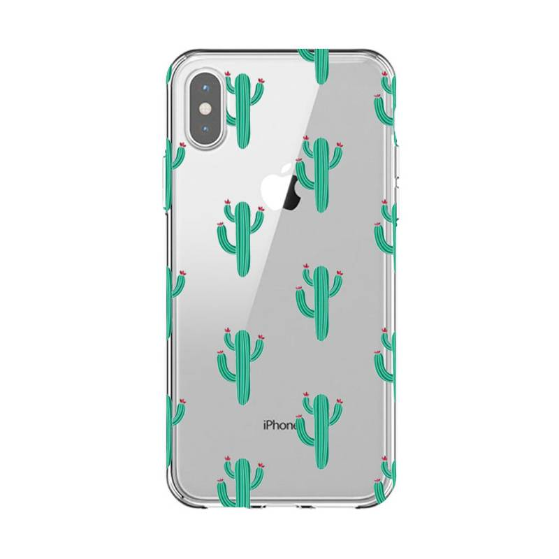Coque transparente Iphone XS Max Cactus