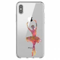 Coque transparente Iphone XS Max Danseuse etoile