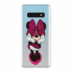 Coque transparente Samsung Galaxy S10 noeud papillon