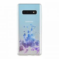 Coque transparente Samsung Galaxy S10 Chateau