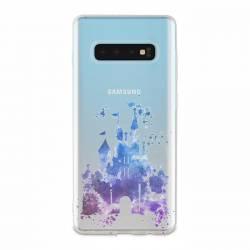 Coque transparente Samsung Galaxy S10 Chateau
