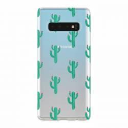 Coque transparente Samsung Galaxy S10 Cactus