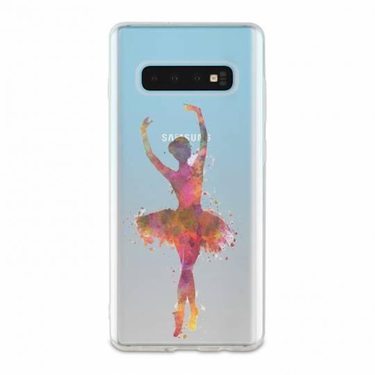Coque transparente Samsung Galaxy S10e Danseuse etoile