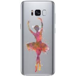 Coque transparente Samsung Galaxy S8 Plus + Danseuse etoile
