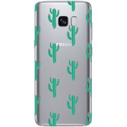 Coque transparente Samsung Galaxy S8 Plus + Cactus