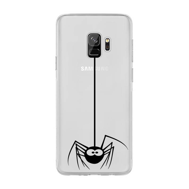 Coque transparente Samsung Galaxy S9 Araignee