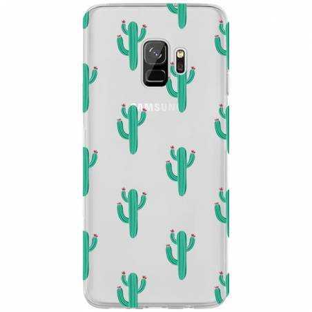 Coque transparente Samsung Galaxy S9 Cactus