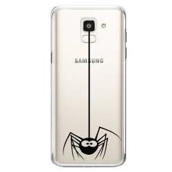 Coque transparente Samsung Galaxy J6 (2018) - J600 Araignee