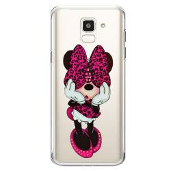 Coque transparente Samsung Galaxy J6 (2018) - J600 noeud papillon