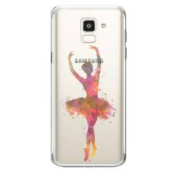 Coque transparente Samsung Galaxy J6 (2018) - J600 Danseuse etoile