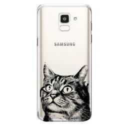 Coque transparente Samsung Galaxy J6 (2018) - J600 Chaton