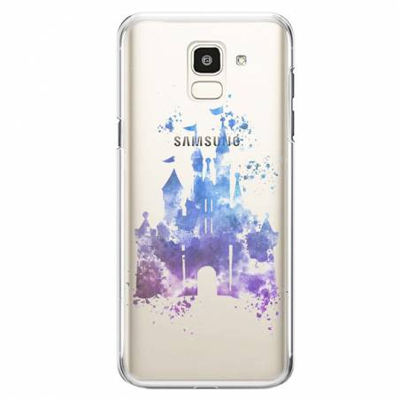 Coque transparente Samsung Galaxy J6 (2018) - J600 Chateau