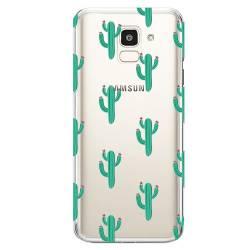 Coque transparente Samsung Galaxy J6 (2018) - J600 Cactus