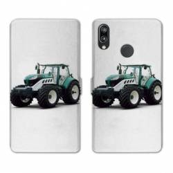 RV Housse cuir portefeuille Huawei P30 LITE Agriculture