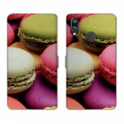 RV Housse cuir portefeuille Huawei P30 LITE Gourmandise