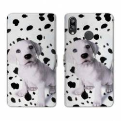 RV Housse cuir portefeuille Huawei P30 LITE animaux